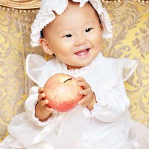 赤ちゃん 撮影画像