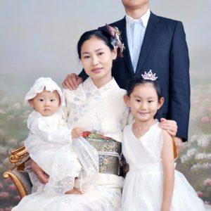家族写真 撮影画像